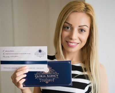 Mihaela Pencea winner of the contest, congratulations!