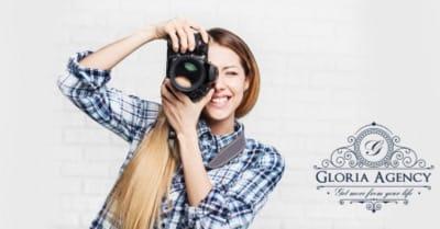 Gloria Agency angajeaza fotograf profesionist
