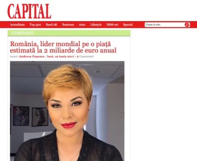 Romania, lider mondial pe o piata estimata la 2 miliarde de euro anual