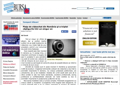 Cum evolueaza industria de videochat din Bucuresti
